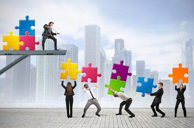 puzzle-team-work